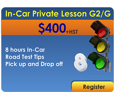 8 In Car Lessons